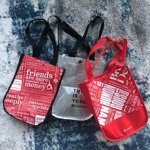 Small Lululemon Totes